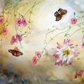 papillon-voltige-aquarelle-Francoise-Dubourg