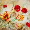 tulipe-renoncule-aquarelle-Francoise-Dubourg