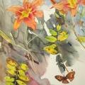 hemerocalle-automne-aquarelle-Francoise-Dubourg