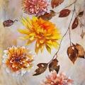 dahlias-bicolores-automne-aquarelle-Francoise-Dubourg