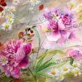 deux-pivoines-roses-encre-de-Chine-couleur-Francoise-Dubourg