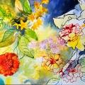 iris-soucis-encre-de-Chine-couleur-Francoise-Dubourg