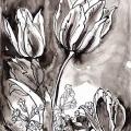 Tulipes-coucous-Francoise-Dubourg