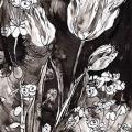 Tulipes-euphorbe-Francoise-Dubourg