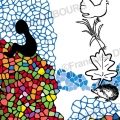 ville-nature-toit-fleuri-illustration-Françoise Dubourg