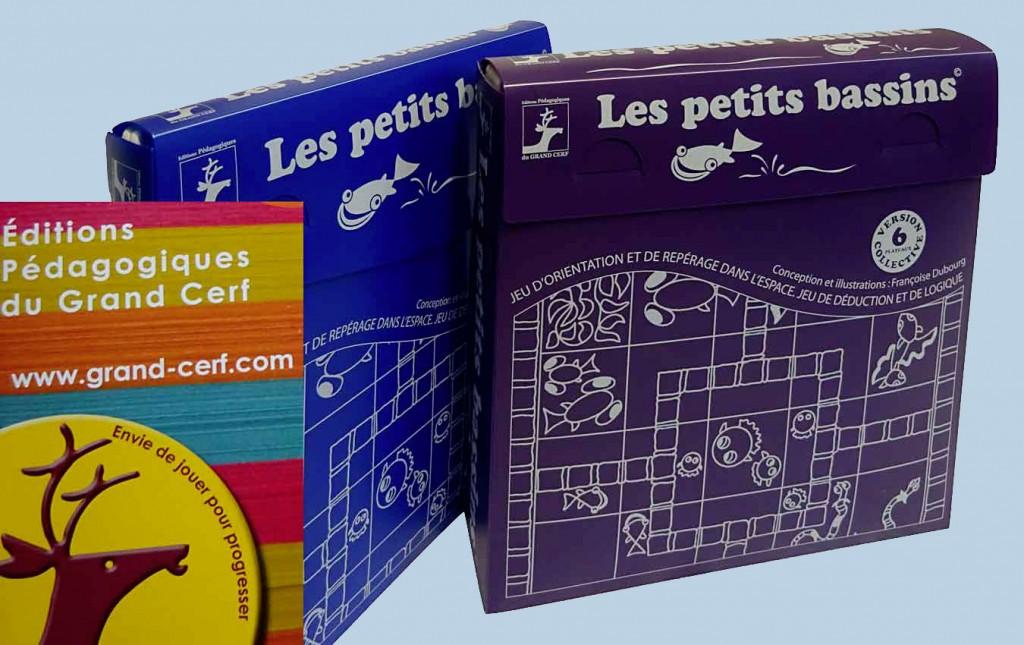 Les petits bassins-jeu ludo-éducatif-Création-Françoise-Dubourg