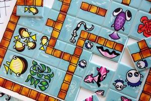 Les petits bassins-jeu ludo-éducatif-Création Françoise-Dubourg
