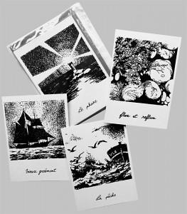 Cartes collection Lumière en mer - Françoise Dubourg